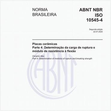 NBRISO10545-4 de 11/2017