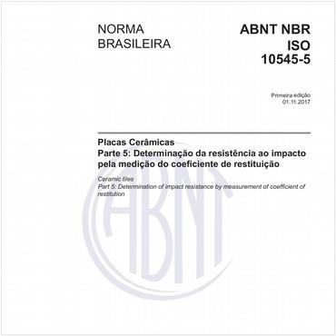 NBRISO10545-5 de 11/2017