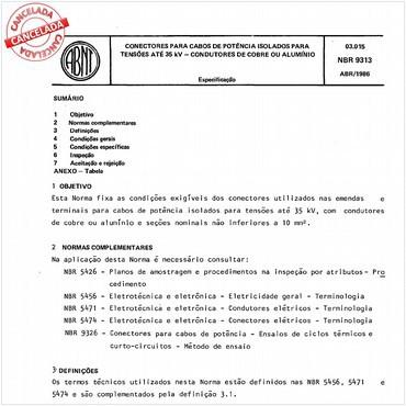 NBR9313 de 04/1986