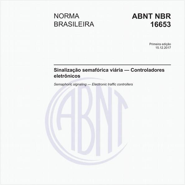 Sinalização semafórica viária - Controladores eletrônicos