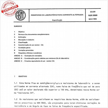 NBR8666 de 11/1984