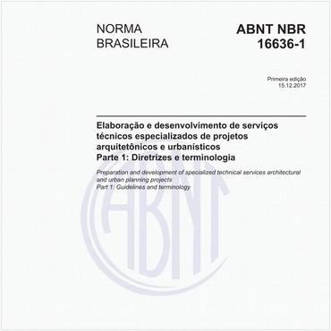 NBR16636-1 de 12/2017