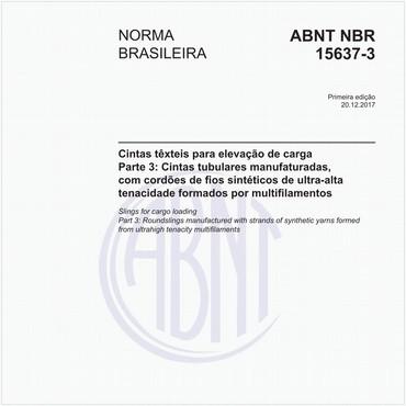 NBR15637-3 de 12/2017