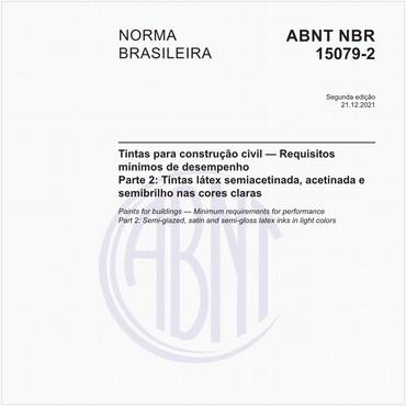 NBR15079-2 de 09/2019