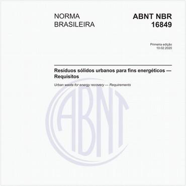 NBR16849 de 02/2020