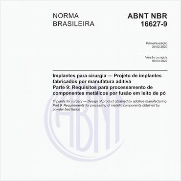NBR16627-9 de 02/2020