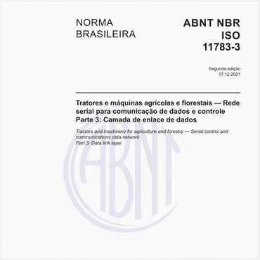 NBRISO11783-3 de 01/2018