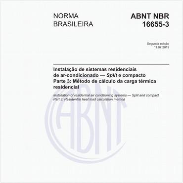 NBR16655-3 de 07/2019