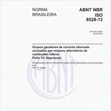 NBRISO8528-13 de 02/2018