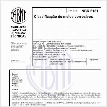 NBR6181 de 04/2003
