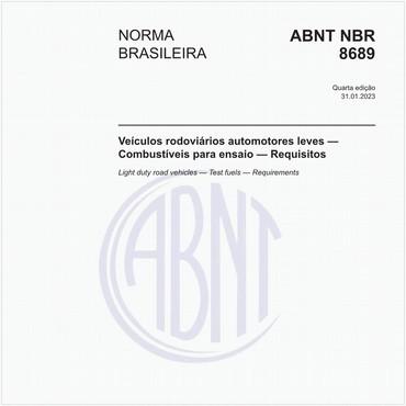 NBR8689 de 08/2012