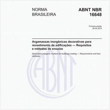 NBR16648 de 04/2018