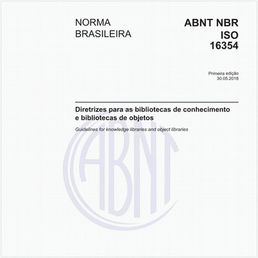 NBRISO16354 de 05/2018