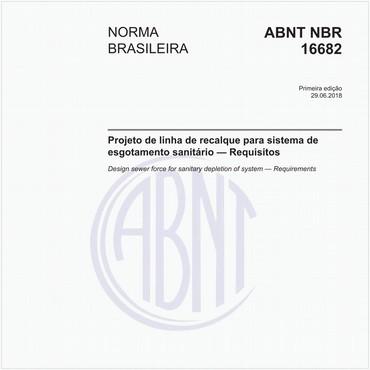 NBR16682 de 06/2018