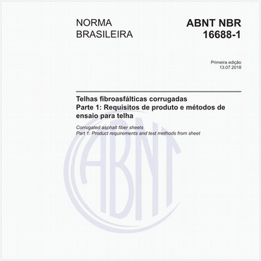 NBR16688-1 de 07/2018