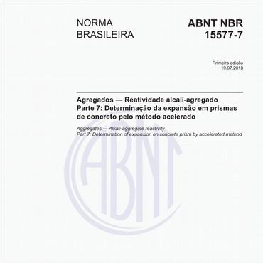 NBR15577-7 de 07/2018