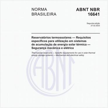 NBR16641 de 08/2018