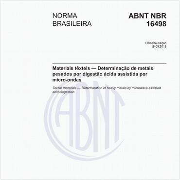 NBR16498 de 09/2018