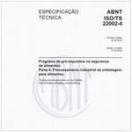 ABNT ISO/TS22002-4