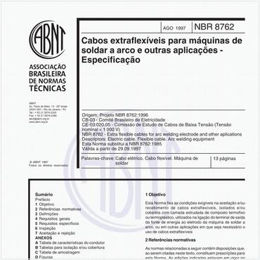 NBR8762 de 08/1997