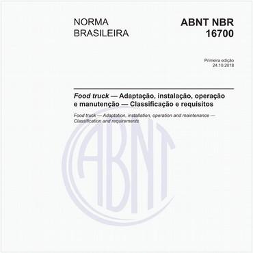 NBR16700 de 10/2018