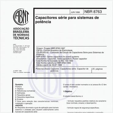 NBR8763 de 06/1998
