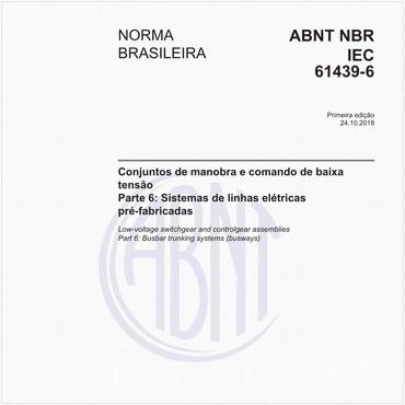 NBRIEC61439-6 de 10/2018