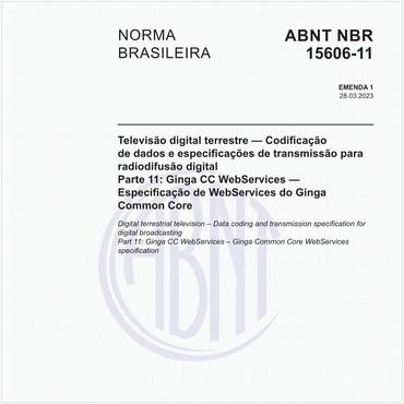 NBR15606-11 de 10/2018