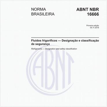NBR16666 de 11/2018
