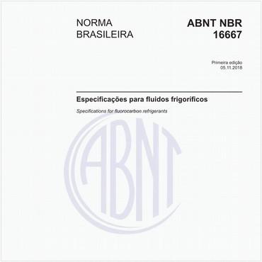 NBR16667 de 11/2018