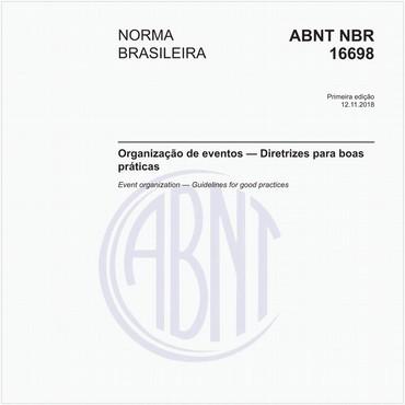 NBR16698 de 11/2018