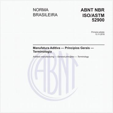 NBRISO/ASTM52900 de 11/2018