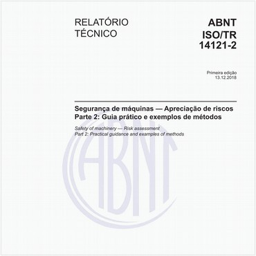 ABNT ISO/TR14121-2 de 12/2018