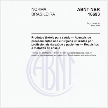 NBR16693 de 12/2018