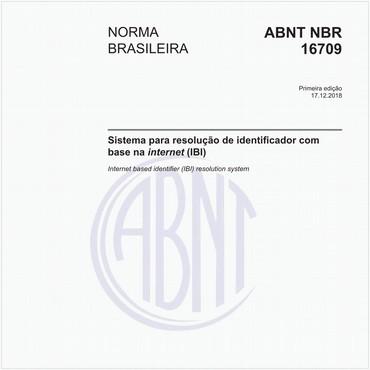 NBR16709 de 12/2018