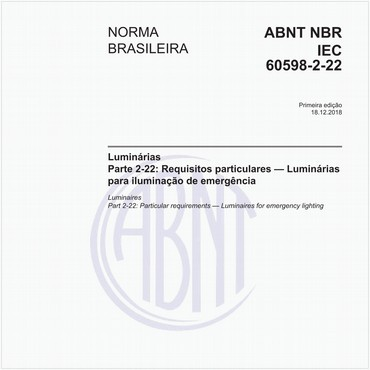 NBRIEC60598-2-22 de 12/2018