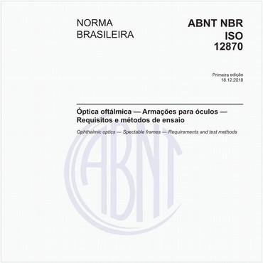 NBRISO12870 de 12/2018