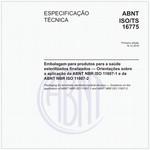 ABNT ISO/TS16775