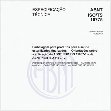 ABNT ISO/TS16775 de 12/2018