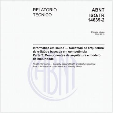 ABNT ISO/TR14639-2 de 01/2019