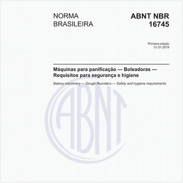 NBR16745 de 01/2019