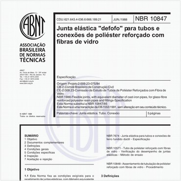NBR10847 de 06/1988