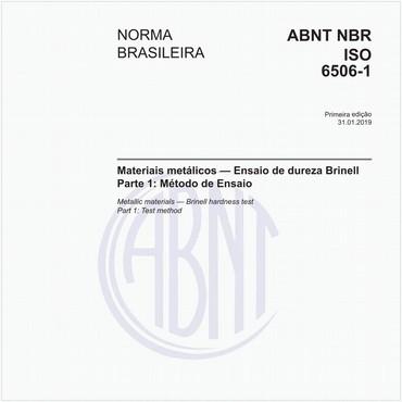 NBRISO6506-1 de 01/2019