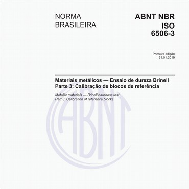 NBRISO6506-3 de 01/2019