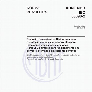 NBRIEC60898-2 de 02/2019
