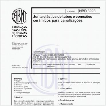 NBR8928 de 06/1985