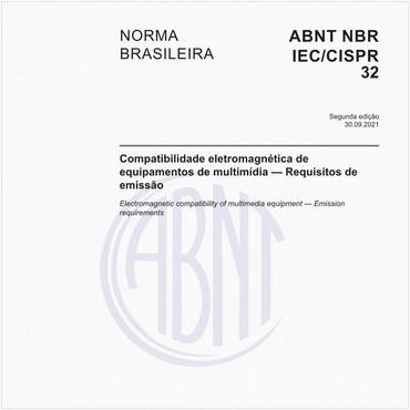 NBRIEC/CISPR32 de 02/2019