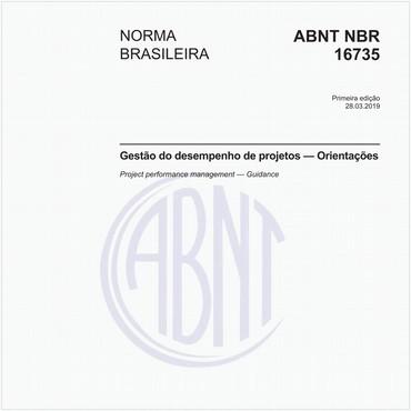 NBR16735 de 03/2019