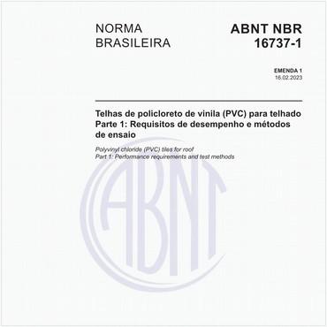 NBR16737-1 de 03/2019