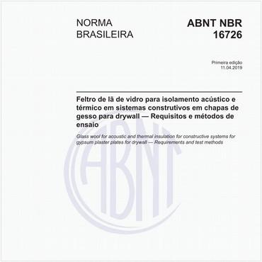 NBR16726 de 04/2019